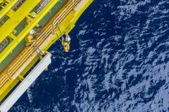 Ropa i gaz przemysłowy okupacyjny fotografia royalty free