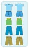 ropa para los muchachos Imagenes de archivo