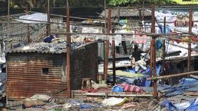 Ropa que se lava en Dhobi Ghat