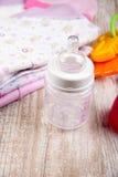 Ropa y accesorios para los bebés, Foto de archivo