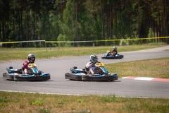 ROPAZI LATVIA, MAJ, - 24, 2018: Studenccy sport gier ZZ mistrzowie Obraz Stock