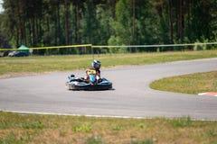 ROPAZI LATVIA, MAJ, - 24, 2018: Studenccy sport gier ZZ mistrzowie Obraz Royalty Free