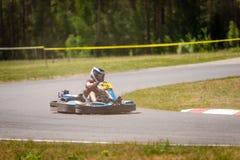 ROPAZI, LETONIA - 24 DE MAYO DE 2018: CAMPEONES de Sports Games ZZ del estudiante Imagen de archivo