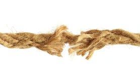 rope сорвано стоковое изображение