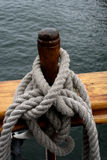 Rope. Of a pirate ship in san diego Royalty Free Stock Photography