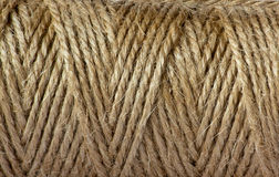 Rope. A fragment of sackcloth rope Royalty Free Stock Images
