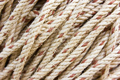 Rope. Close up shot of a rope background Royalty Free Stock Image
