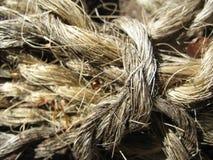 Rope. Close-up stock photo