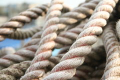 Rope 3. Fishing rope 3 Royalty Free Stock Image