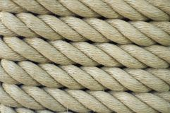 Rope. Coils of rope royalty free stock photos