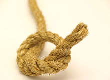 Rope. Isolated on a white background Stock Photo