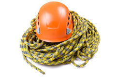 Rope access tools Stock Photo