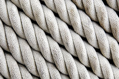 Rope background. A background of twisted nautical rope Stock Image