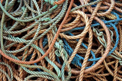 Rope Background Stock Photography
