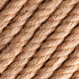 Rope background. Close up of rope for background Stock Images