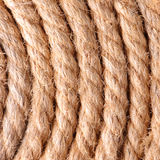 Rope background. Close up of rope for background Stock Photo