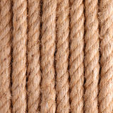 Rope background. Close up of rope for background Stock Photography