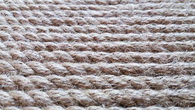 Rope background. Coiled rope with a vertical arrangement Stock Photo
