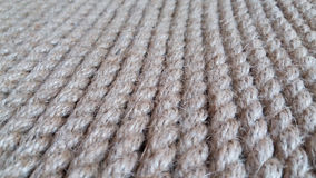 Rope background. Coiled rope with a vertical arrangement Royalty Free Stock Photo