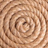 Rope background. Spiral rope, pattern and texture background Stock Images
