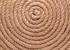 Rope  background. Spiral rope, pattern and texture background Royalty Free Stock Photos