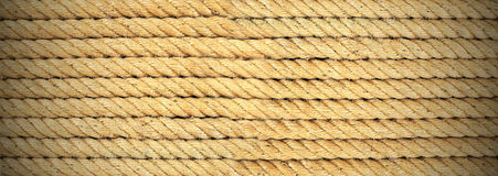 Rope banner background Stock Photos