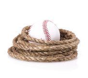 Rope baseball ball Stock Photos