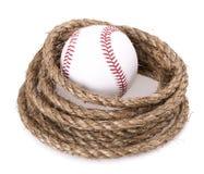 Rope baseball ball Royalty Free Stock Photos