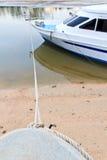 Rope bind boat Stock Image