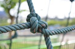 Rope binding Royalty Free Stock Image