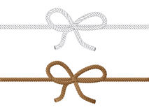 Rope bow Stock Photography