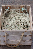 Rope in a Box Royalty Free Stock Photography
