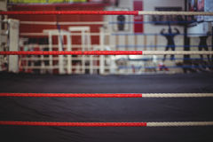 Rope of boxing ring Royalty Free Stock Image