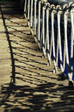 Rope Bridge Royalty Free Stock Photography