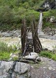 The Rope bridge stock images