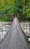 Rope bridge Stock Photos