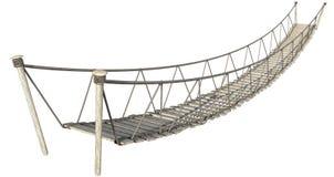 Free Rope Bridge Royalty Free Stock Photography - 39097277