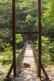 Rope Bridge Stock Photography