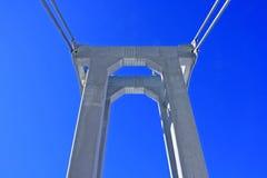 Rope bridge construction Stock Photography