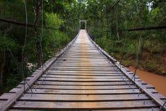 Rope bridge Royalty Free Stock Photo
