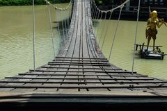 Rope bridge Stock Photos