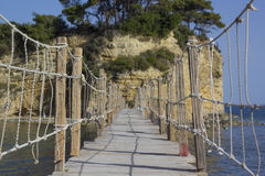 Rope Bridge Royalty Free Stock Images