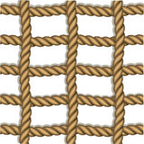 Rope brown pattern Royalty Free Stock Photos