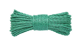 Rope bunched Stock Image