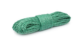 Rope bunched Stock Images