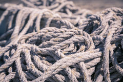 A rope bundle Stock Image