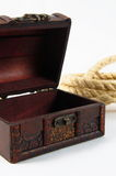 Rope in chest Stock Images
