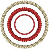 Rope circular Stock Photography