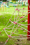 The Rope Climber on the playground. Stock Images