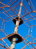 Rope Net Climbing Frame Royalty Free Stock Photo
